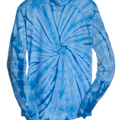 Adult Tie-Dyed Long-Sleeve Tee