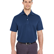 Men's Platinum Performance Jacquard Polo with TempControl Technology