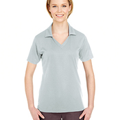 Ladies' Platinum Performance Jacquard Polo with TempControl Technology