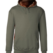 Adult Athletic Fleece Camo Accent Hooded Sweatshirt