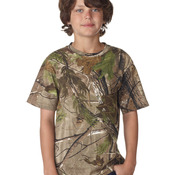 Youth Realtree® Camouflage Short-Sleeve Tee