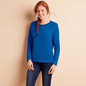 Missy Fit Heavy Cotton Fit Long-Sleeve T-Shirt