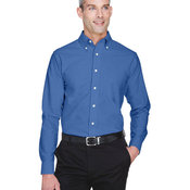 Surry Fire - Classic Wrinkle-Resistant Long-Sleeve Oxford