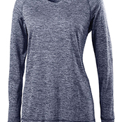 Ladies' Dry-Excel™ Electrify 2.0 Performance V-Neck Long-Sleeve Training Top