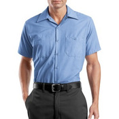 Short Sleeve Industrial Work Shirt
