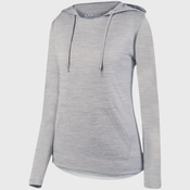 Ladies' Shadow Tonal Heather Hoodie