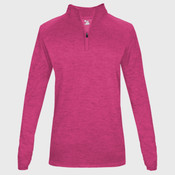 Tonal Blend Women's Quarter-Zip (personalized)