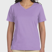 Ladies' Premium Jersey V-Neck T-Shirt