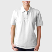 ® Ultra Cotton® Ladies' Piqué Polo
