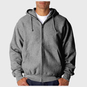 Adult Cross Weave® Full-Zip Hooded Sweatshirt
