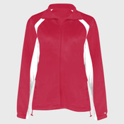 Ladies' Brushed Tricot Hook Jacket