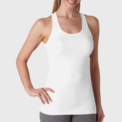+CANVAS Ladies' Sheer Mini Rib Racerback Tank
