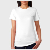 +CANVAS Ladies' Relaxed Jersey Short-Sleeve Tee