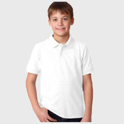 ® DryBlend® Youth Piqué Polo