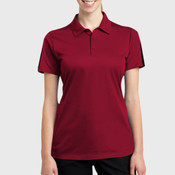 Ladies PosiCharge ® Active Textured Colorblock Polo