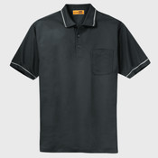 Select Snag Proof Tipped Pocket Polo
