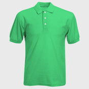 UltraClub® Men's Platinum Honeycomb Piqué Polo