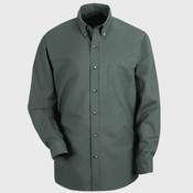 Men's Long-Sleeve Yarn-Dyed Gingham Check