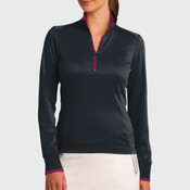 Ladies Dri FIT 1/2 Zip Cover Up