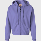 Comfort Colors Ladies' Full-Zip Hooded Sweatshirt