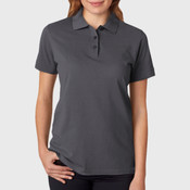 UltraClub Ladies' Basic Blended Piqué Polo