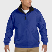 Adult Fleece-Lined Nylon Jacket