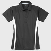 Ladies PosiCharge ® Micro Mesh Colorblock Polo