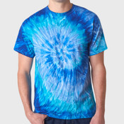 Dyenomite Adult Ripples Pigment-Dyed Tee