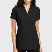 Ladies Silk Touch ™ Y Neck Polo