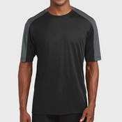 PosiCharge ® Competitor ™ Sleeve Blocked Tee