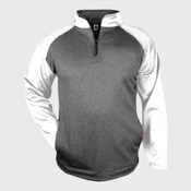 Adult Sport Heather 1/4-Zip Fleece