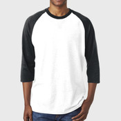 ® Heavy Cotton™ Adult 3/4-Sleeve Raglan T-Shirt