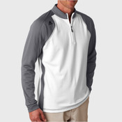 Men's ClimaWarm 3-Stripes Color Block 1/4-Zip Training Top