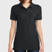Ladies 6.6 Ounce 100% Double Pique Cotton Sport Shirt