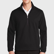 Active 1/2 Zip Soft Shell Jacket