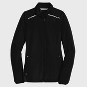 Ladies Zephyr Reflective Hit Full Zip Jacket