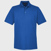 CrownLux Performance™ Men's Tall Plaited Polo