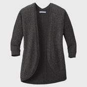 ® Ladies Marled Cocoon Sweater