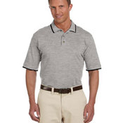 Adult 6 oz. Short-Sleeve Piqué Polo with Tipping