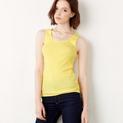 +CANVAS Ladies' 2x1 Rib Tank