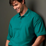 UltraClub Men's Tall Whisper Piqué Polo