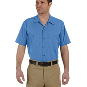 Men's 4.25 oz. Industrial Short-Sleeve Work Shirt