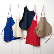 UltraClub Large 2-Pocket Bib Apron