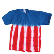 Dyenomite Adult Patriotic Flag Tee