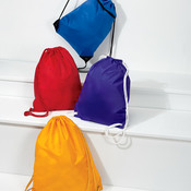 UltraClub Zippered Drawstring Sport Pack
