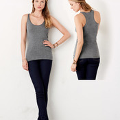 +CANVAS Ladies' Triblend Racerback Tank