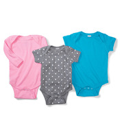 Infant Fine Jersey Lap-Shoulder Bodysuit