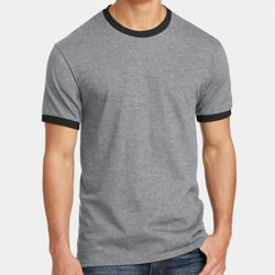 Unisex 5.4oz Cotton Ringer T-Shirt Thumbnail