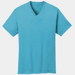 Unisex 5.4oz Cotton V-Neck T-Shirt Thumbnail