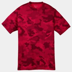 Youth Poly CamoHex T-Shirt Thumbnail